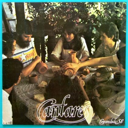 LP COMUNIDADE S8 CANTARES GOSPEL PROG PSYCH 1984 BRAZIL