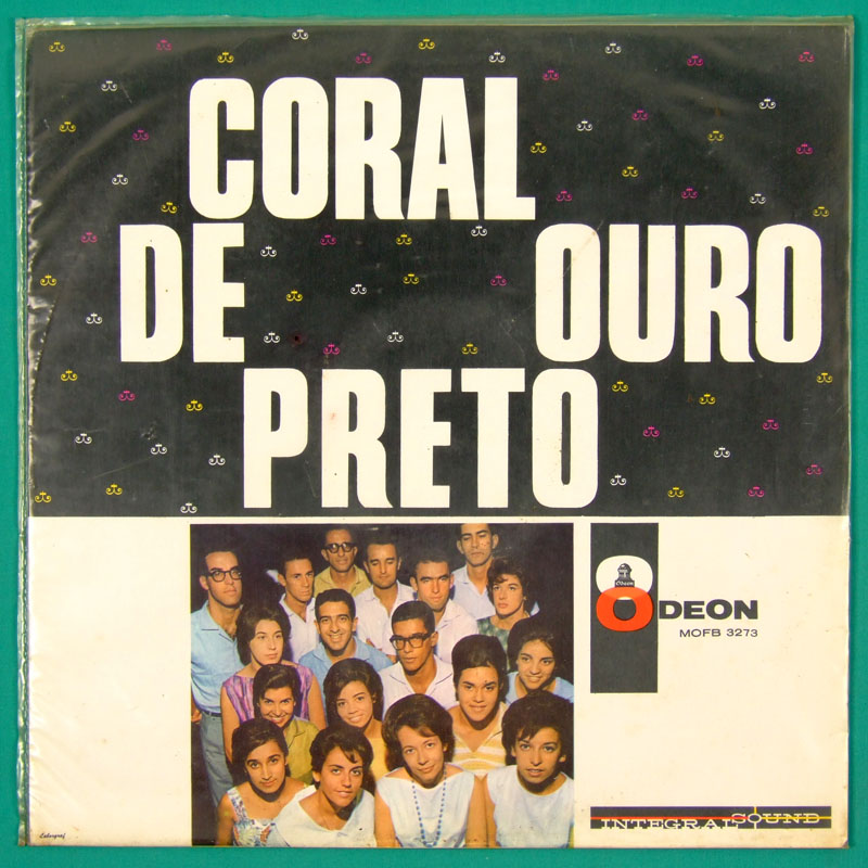 LP CORAL DE OURO PRETO VOCAL BOSSA CHOIR MINAS - BRAZIL