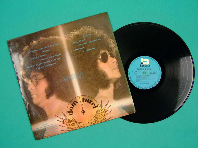 LP DOM & RAVEL 1971 POP PSYCH BEAT GARAGE FOLK BRAZIL