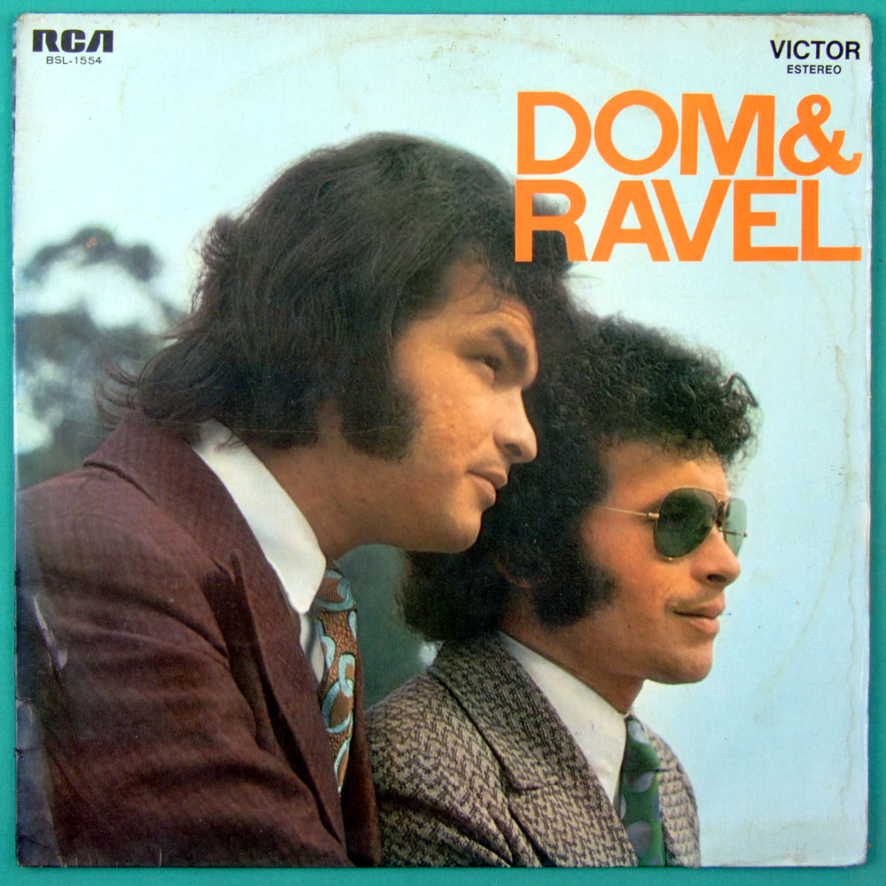 LP DOM & RAVEL 1974 POP PSYCH BEAT GARAGE BRAZIL