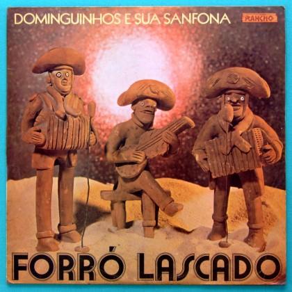 LP DOMINGUINHOS FORRO LASCADO 1982 FOLK REGIONAL BRAZIL
