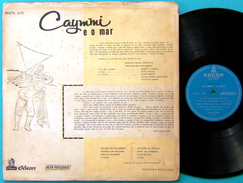 LP DORIVAL CAYMMI E O MAR 1957 BOSSA SAMBA ROOTS BRAZIL