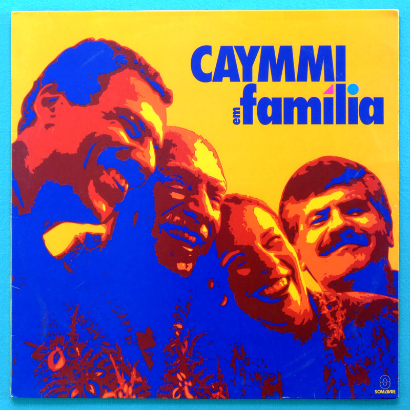 LP DORIVAL CAYMMI EM FAMILIA 1994 SAMBA BOSSA FOLK BRAZIL