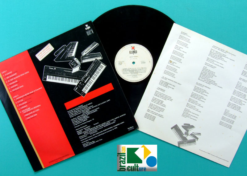 LP ED LINCOLN NOVO TOQUE  ELENCO GROOVE SAMBA DJ BRAZIL