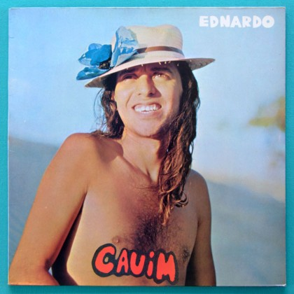LP EDNARDO CAUIM 1978 PEPEU REGIONAL FOLK PSYCH BRAZIL