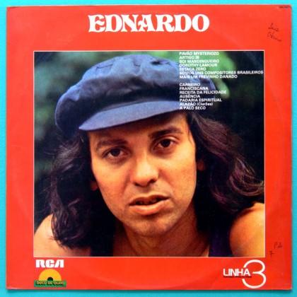LP EDNARDO 1981 LINHA 3 LATIN REGIONAL FOLK PSYCH BRAZIL