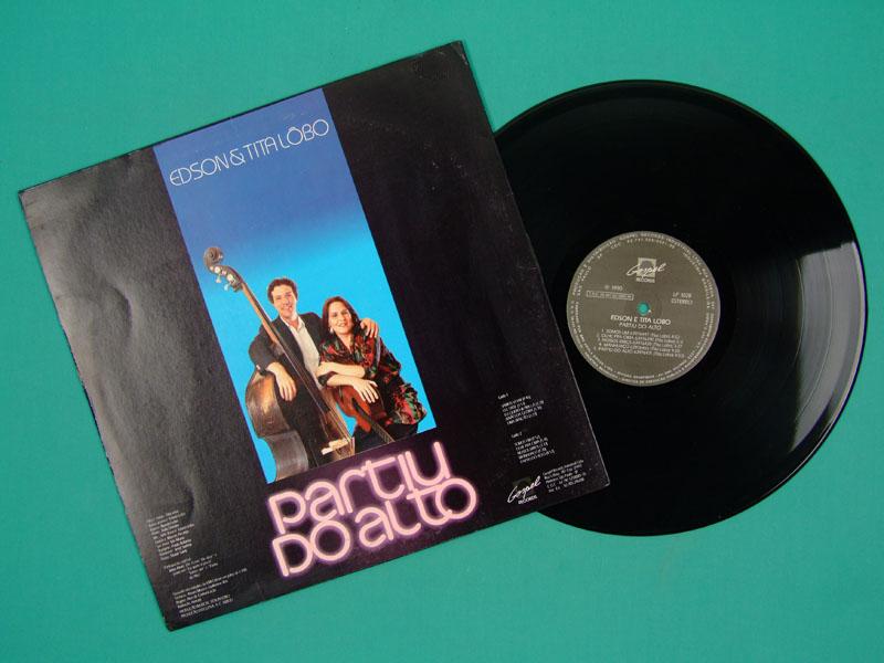 LP EDSON E TITA PARTIU DO ALTO 1990 DONATO GOSPEL FOLK SAMBA BOSSA JAZZ BRAZIL