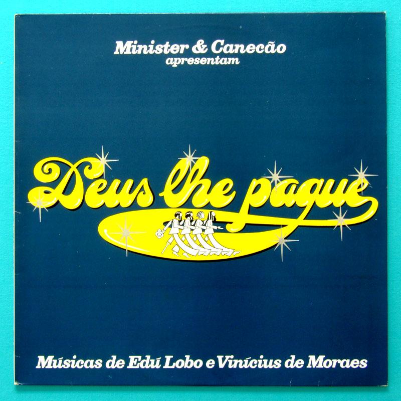 LP EDU LOBO E VINICIUS DE MORAES DEUS LHE PAGUE PLAY 1976 BRAZIL