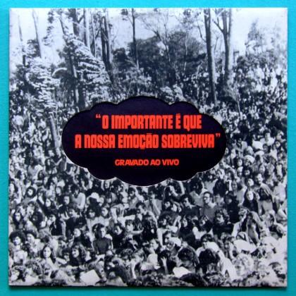 LP PAULO CESAR PINHEIRO EDUARDO GUDIN & MARCIA O IMPORTANTE E QUE A NOSSA...1974 BRAZIL