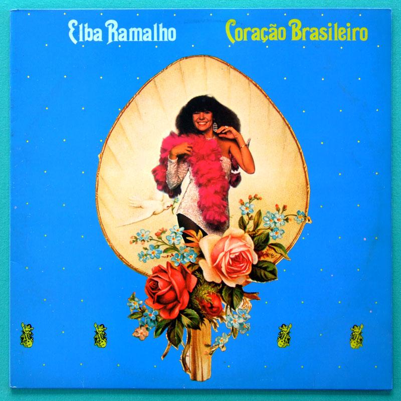 LP ELBA RAMALHO CORACAO BRASILEIRO REGIONAL FOLK BRAZIL