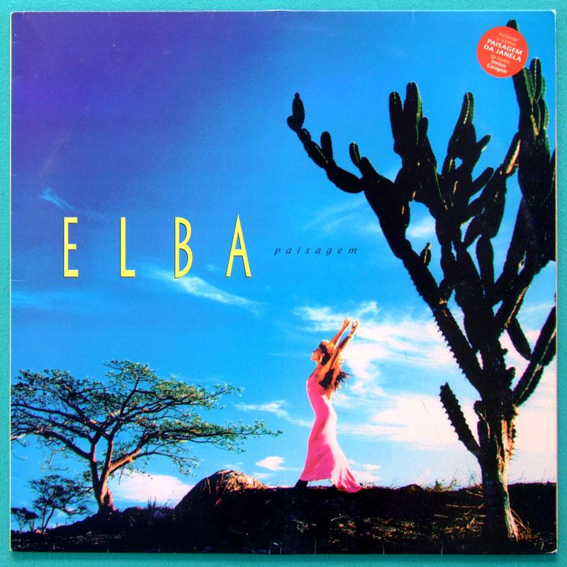 LP ELBA RAMALHO PAISAGEM 1995 FOLK REGIONAL GROOVE BRAZIL