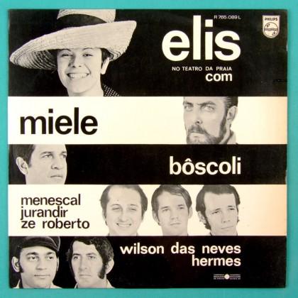 LP ELIS REGINA TEATRO DA PRAIA MENESCAL BERTRAMI ORIGINAL 1st EDITION BRAZIL