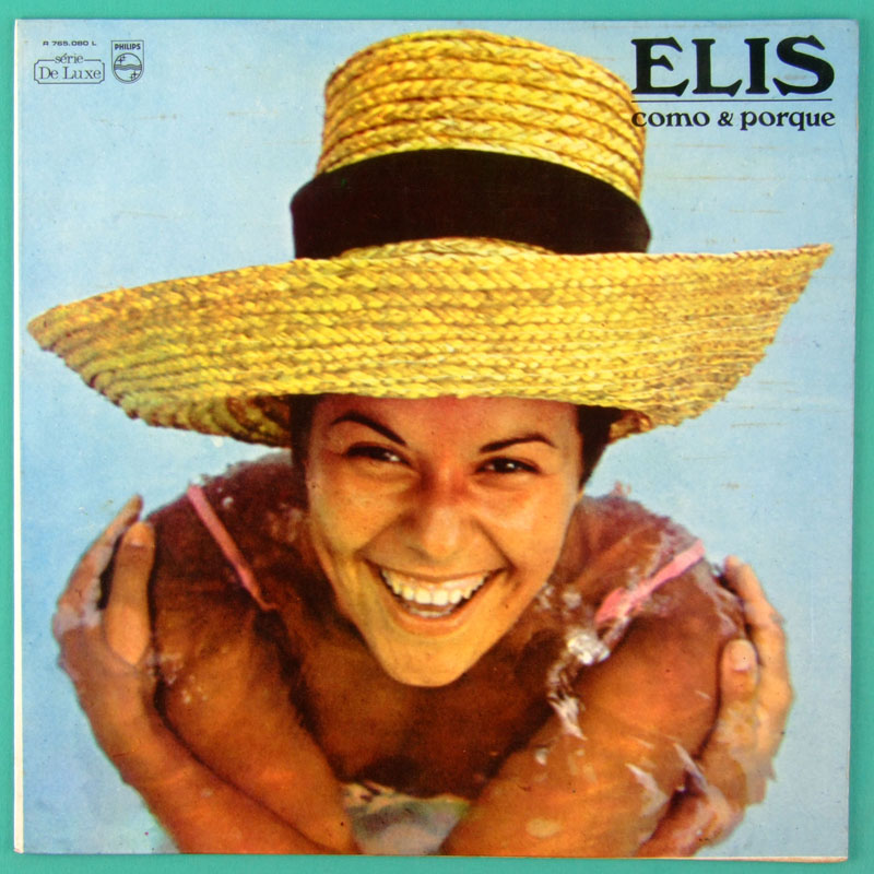 LP ELIS REGINA COMO & PORQUE 1969 ERLON CHAVES BOSSA BRAZIL