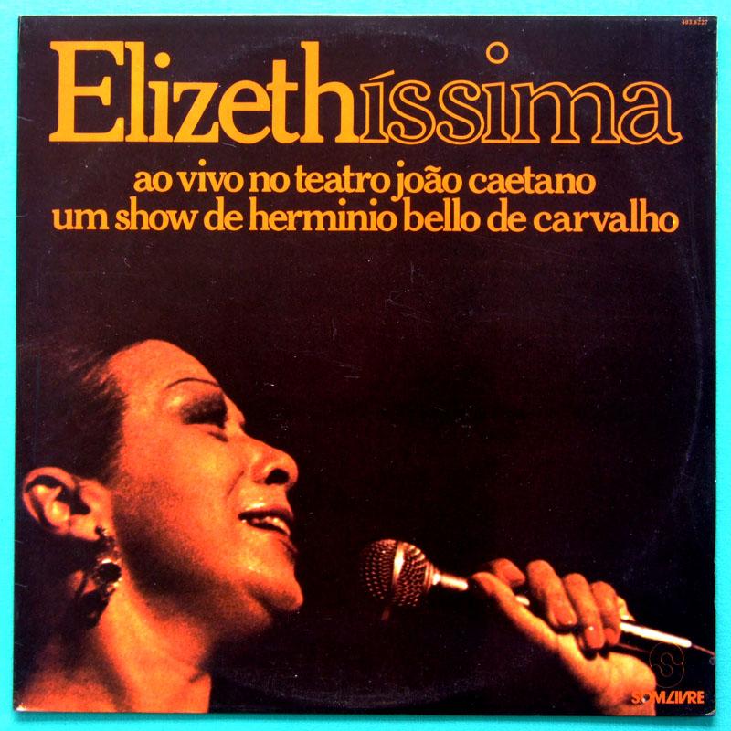 LP ELIZETH CARDOSO ELIZETHISSIMA 1981 SAMBA BOSSA BRAZIL