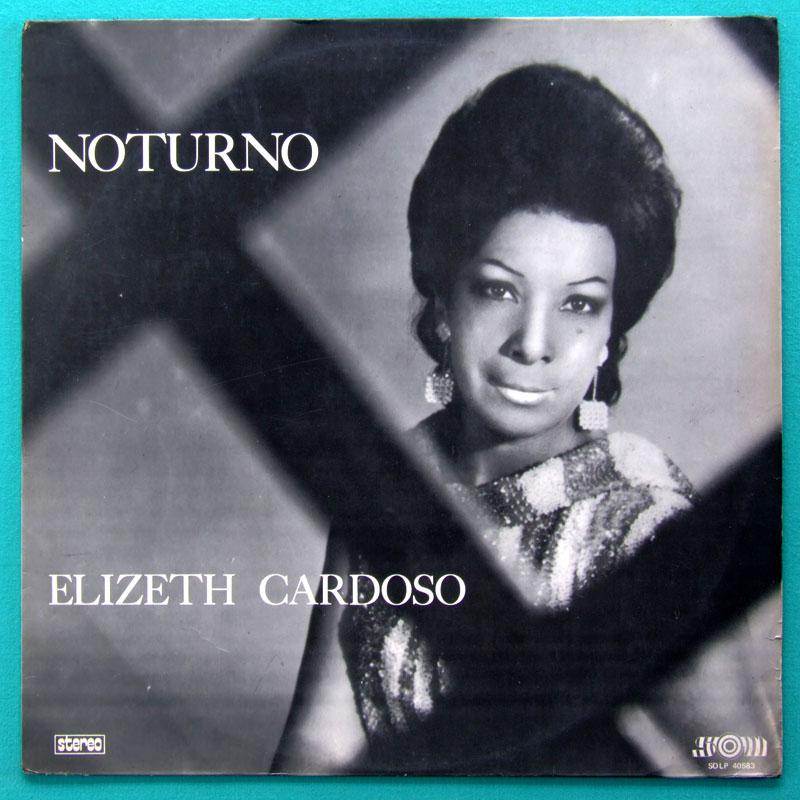 LP ELIZETH CARDOSO NOTURNO SAMBA BOSSA NOVA FOLK BRAZIL