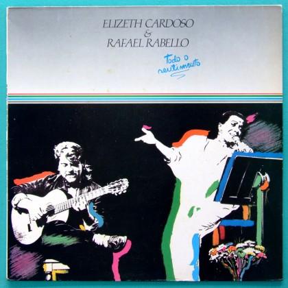 LP ELIZETH CARDOSO RAFAEL RABELLO 1991 SAMBA BOSSA BRAZIL