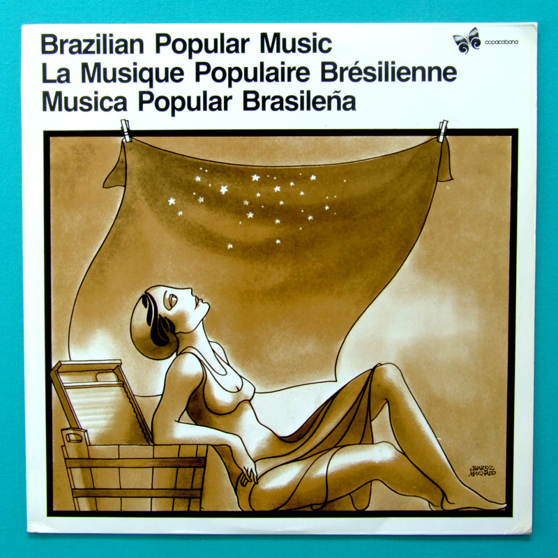 LP ELIZETH CARDOSO JACOB DO BANDOLIM ZIMBO TRIO PRIVATE EXPORT EDITION BRAZIL
