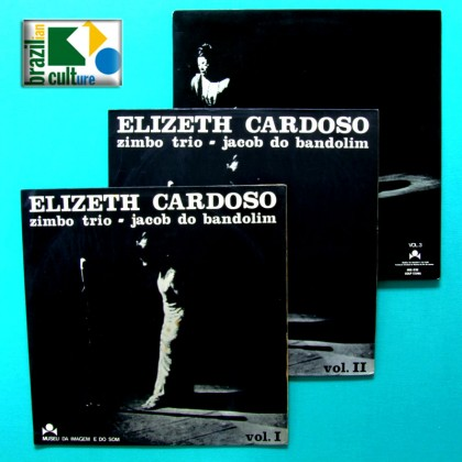 LP KIT ELIZETH CARDOSO, ZIMBO TRIO & JACOB BANDOLIM Vol. I, Vol. II & Vol. III 3-RECORD SET BRAZIL