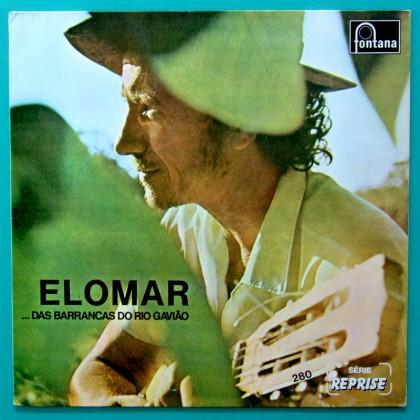 LP ELOMAR DAS BARRANCAS DO RIO GAVIAO FONTANA REPRISE 1973 1982 BRAZIL