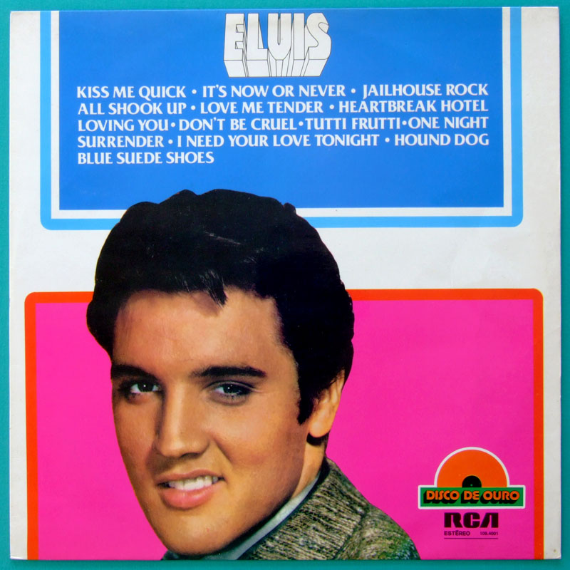 LP ELVIS PRESLEY 1977 ELVIS' COMPILATION ROCK BEAT FOLK COUNTRY POP BRAZIL