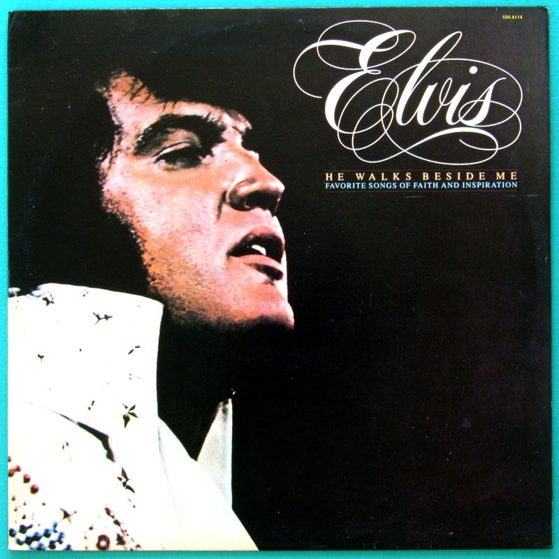 LP ELVIS PRESLEY HE WALKS BESIDE ME 1978 COUNTRY ROCK ROCKABILLY BRAZIL