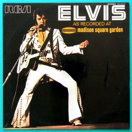 LP ELVIS PRESLEY AS RECORDED AT MADISON SQUARE GARDEN 1972 ROCK FOLK COUNTRY BRAZIL