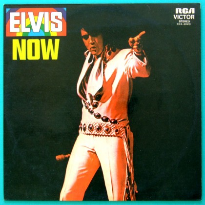 LP ELVIS PRESLEY NOW 1972 ROCK FOLK COUNTRY BRAZILIAN ED. BRAZIL