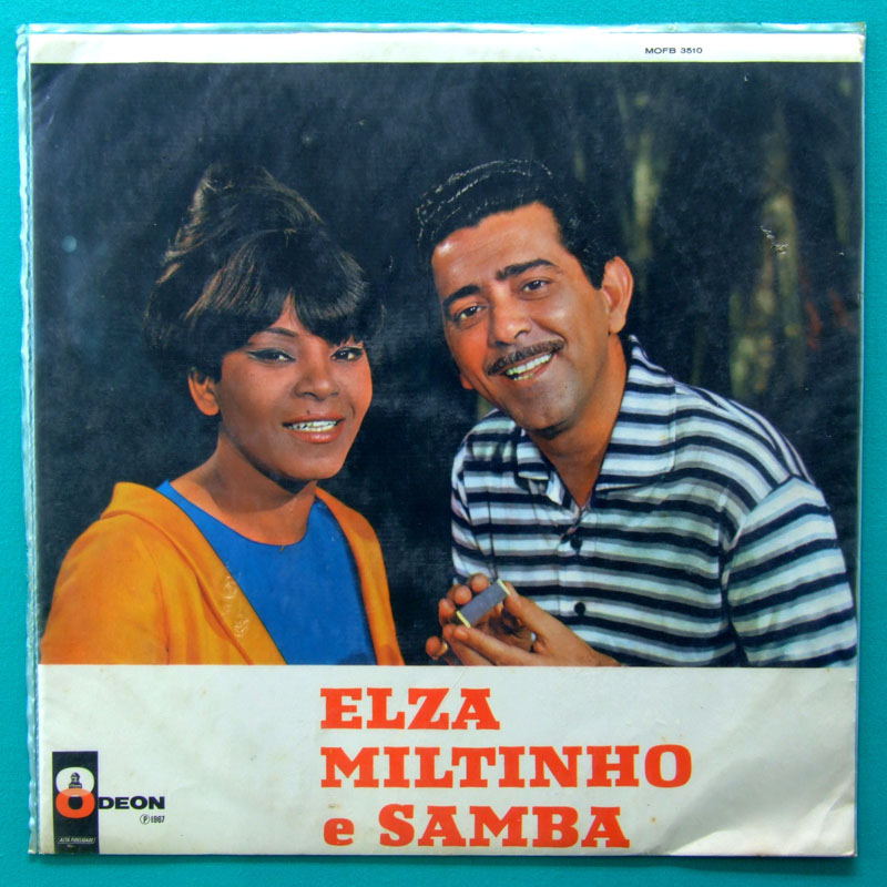 LP ELZA SOARES MILTINHO E SAMBA VOL. 1 BOSSA 1967 BRAZIL