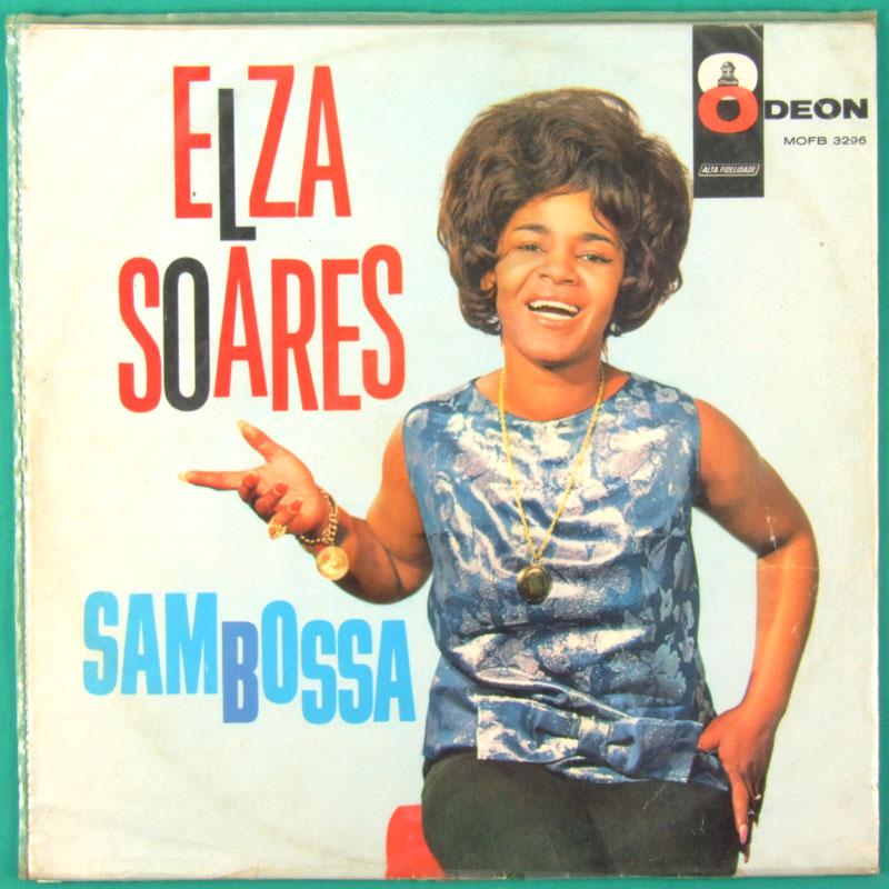 LP ELZA SOARES SAMBOSSA BOSSA NOVA SAMBA RARE BRAZIL