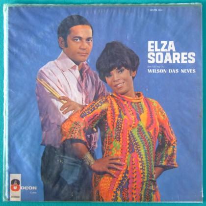 LP ELZA SOARES WILSON DAS NEVES BOSSA SAMBA 1968 MONO BRAZIL