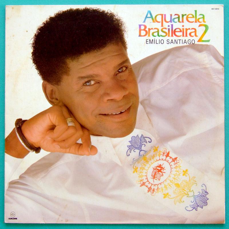 LP EMILIO SANTIAGO AQUARELA BRASILEIRA 2 SOUL DJ BRAZIL