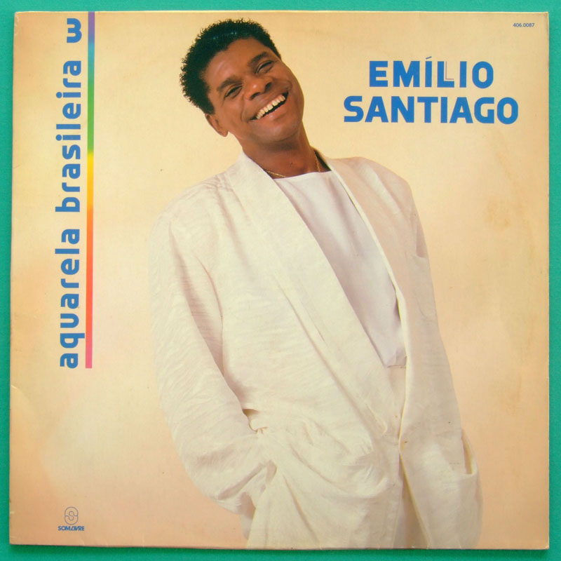 LP EMILIO SANTIAGO AQUARELA BRASILEIRA 3 SOUL DJ BRAZIL