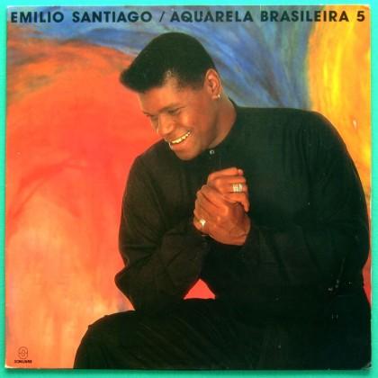 LP EMILIO SANTIAGO AQUARELA BRASILEIRA 5 SOUL DJ BRAZIL