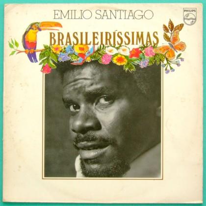 LP EMILIO SANTIAGO BRASILEIRISSIMA 1976 BOSSA SOUL GROOVE BRAZIL