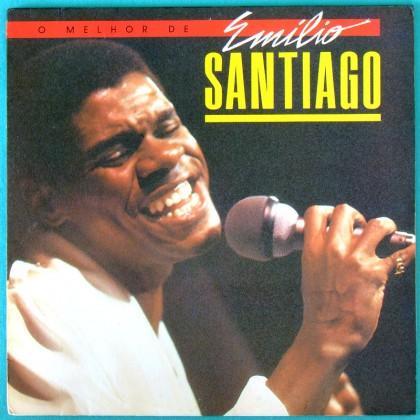 LP EMILIO SANTIAGO ELENCO SAMBA BOSSA FOLK SOUL BRAZIL