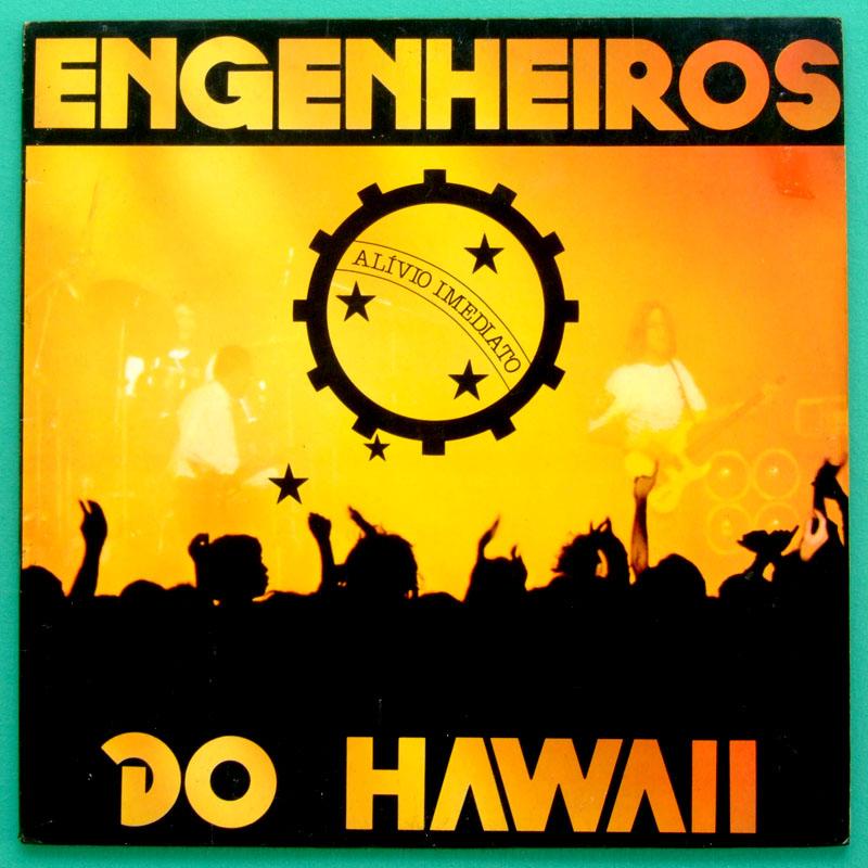 LP ENGENHEIROS DO HAWAII ALIVIO IMEDIATO ROCK DJ BRAZIL