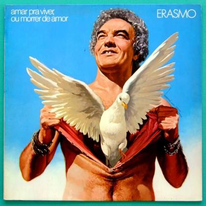 LP ERASMO CARLOS AMAR PRA VIVER OU MORRER DE AMOR 1982 BRAZIL