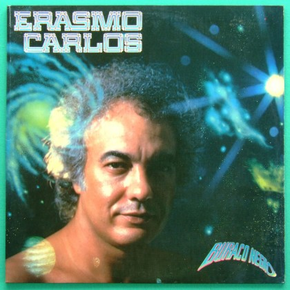LP ERASMO CARLOS 1984 BURACO NEGRO ROCK GIL PSYCH BRAZIL