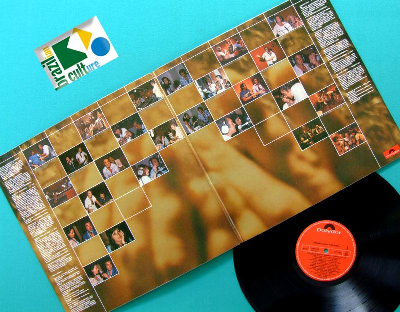 LP ERASMO CARLOS CONVIDA 1980 GILBERTO GIL TIM MAIA CAETANO VELOSO RITA LEE BRAZIL