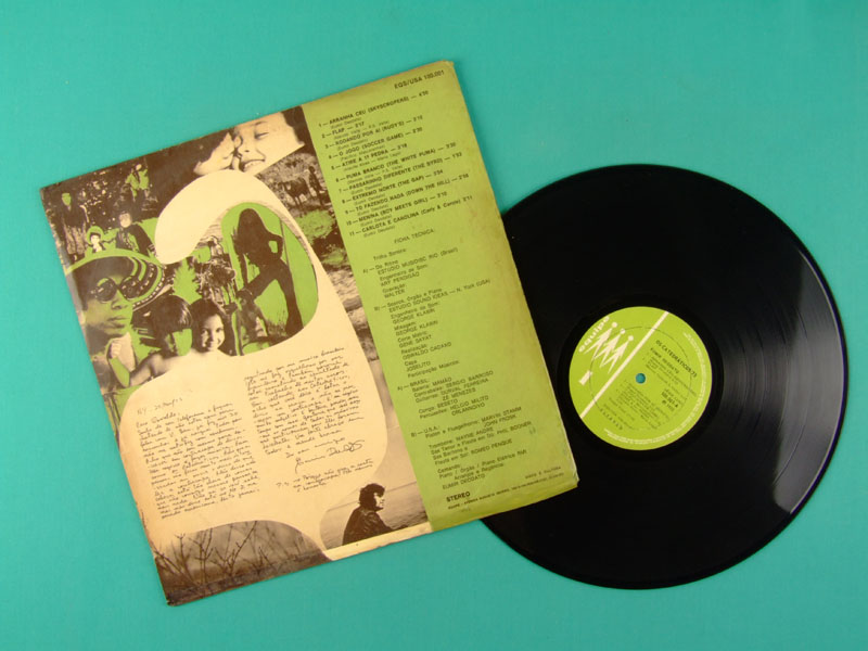 LP EUMIR DEODATO OS CATEDRATICOS ORLANDIVO FUNKY GROOVE DJ BRAZIL
