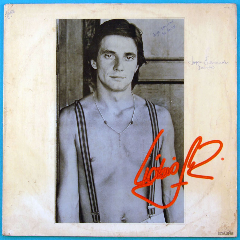LP FABIO JUNIOR 1981 BEAT POP SOFT ROCK GROOVE BRAZIL