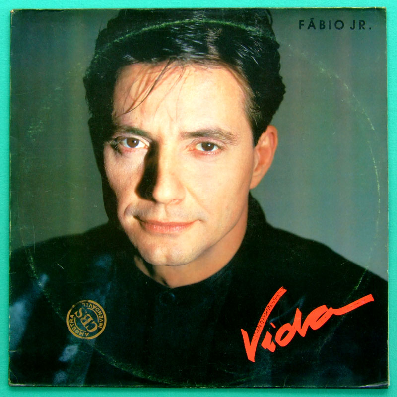 LP FABIO JUNIOR VIDA 1988 BEAT POP SOFT ROCK GROOVE BRAZIL