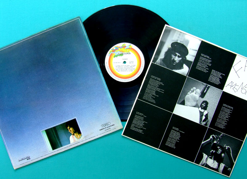 LP FAGNER AVE NOTURNA 1975 VIMANA REGIONAL PSYCH FOLK BRAZIL