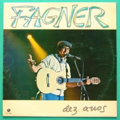 LP FAGNER 10 ANOS 1984 HERMETO FOLK PSYCH NORTHEASTER BRAZIL