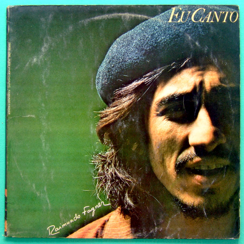 LP FAGNER EU CANTO 1978 FOLK PSYCH ALCEU NORTHEASTERN BRAZIL