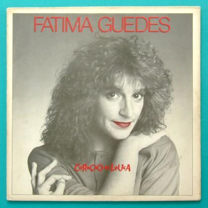 LP FATIMA GUEDES CORACAO DE LOUCA 1989 IVAN LINS FOLK BRAZIL
