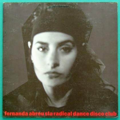 LP FERNANDA ABREU SLA RADICAL DANCE DISCO CLUBE 1990 BRAZIL