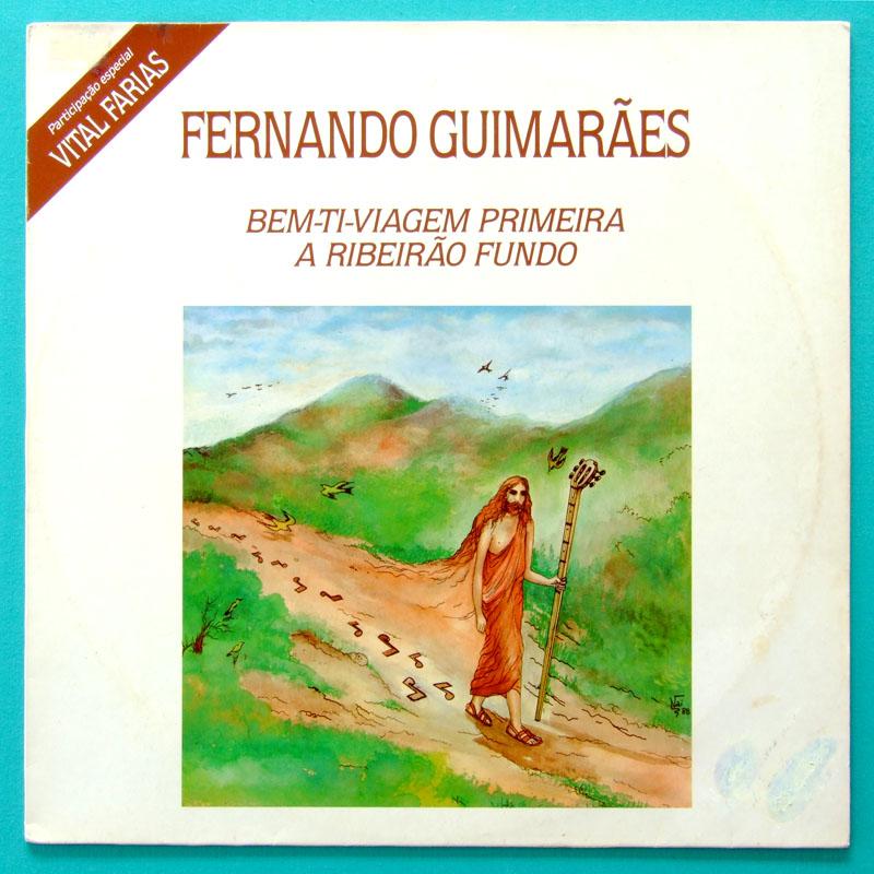 LP FERNANDO GUIMARAES 1990 REGIONAL FOLK VITAL FARIAS BRAZIL