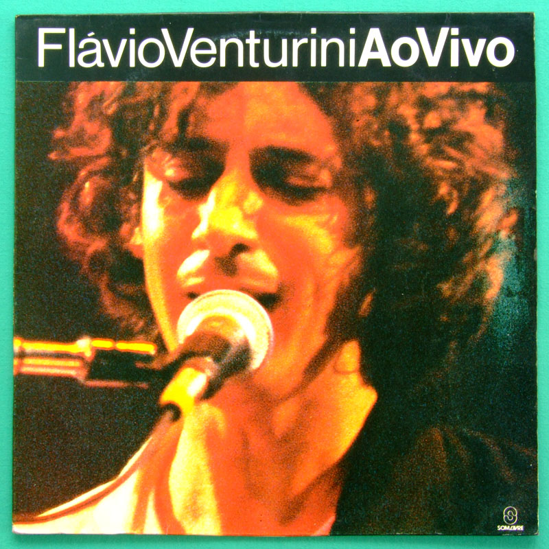 LP FLAVIO VENTURINI AO VIVO 1992 MINAS FOLK BRAZIL