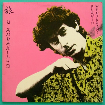 LP FLAVIO VENTURINI O ANDARILHO 1984 MINAS FOLK JAZZ BRAZIL